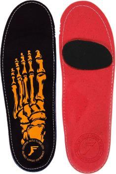 Footprint Skeleton Gold Game Changers Insoles, UK 5-5.5 Black/Gold