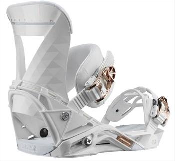 Salomon Womens Mirage Women's Snowboard Binding, M White 2020