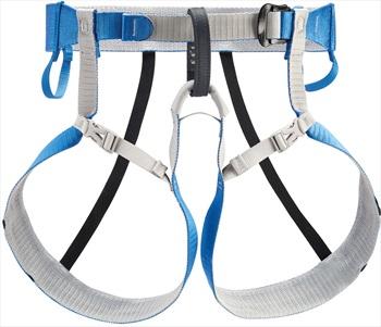Petzl Adult Unisex Tour Adult Climbing Harness, S/M Blue/Grey