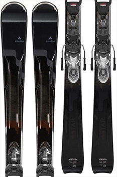 Dynastar Womens Intense 12 Women's Skis 158cm, Black/Sparkle, Xpress 11, 2020