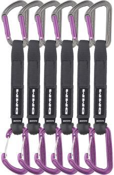 DMM Shadow/Spectre Hybrid 6 Pack Rock Climbing Quickdraw, 18cm