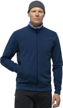 Norrona Falketind Warmwool2 Stretch Jacket Men's Fleece, S Indigo