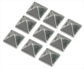 Demon Small Cleat Snowboard Stomp Pad, Silver