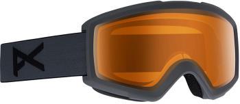 Anon Helix 2.0 Amber Ski/Snowboard Goggles, S/M Stealth