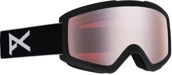 Anon Helix 2.0 Silver Amber Ski/Snowboard Goggles, S/M Black