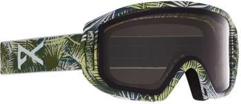 Anon Relapse Jr MFI Smoke Ski/Snowboard Goggles, S/M Camo Green