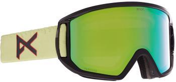 Anon Relapse MFI P. Green Ski/Snowboard Goggles M/L Crazy Eyes Green