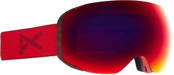 Anon M2 Perceive Sunny Red Ski/Snowboard Goggles, M/L Red