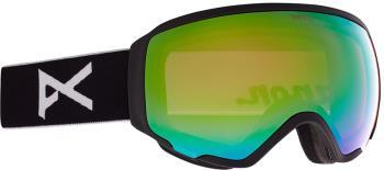 Anon WM1 Perceive V. Green Women's Ski/Snowboard Goggles, S/M Black