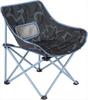 Bo-Camp Leevz Folding Chair Compact Camp Chair, Pine Blue