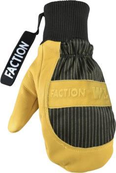 Faction X Wells Lamont Ski/Snowboard Mitten, S Yellow