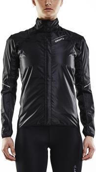 Craft Mist Rain Women's Full-Zip Fitness/Cycling Jacket, XL Black