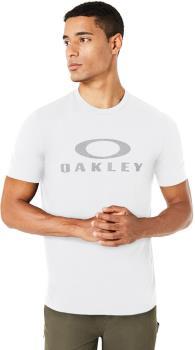 Oakley O Bark Men's Short Sleeve Crew Neck T-Shirt, S White