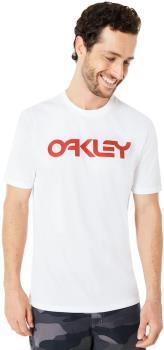 Oakley Mark II Short Sleeve Crew Neck T-Shirt, L White