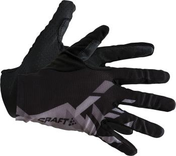 Craft Pioneer Control Running/Cycling Gloves, XL Black/White