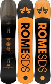 Rome Ravine Select Hybrid Camber Snowboard, 162cm 2021