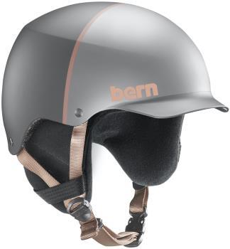 Bern Baker EPS MIPS Snowboard/Ski Helmet, M Satin Silver Hatstyle