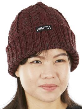 Nikita Turf Ski/Snowboard Beanie Bobble Hat, OS Brandy
