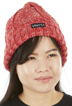 Nikita Turf Ski/Snowboard Beanie Bobble Hat, OS Poppy
