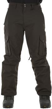 Sessions Adult Unisex Squadron Ski/Snowboard Pants, M Black