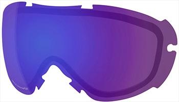 Smith Virtue Snowboard/Ski Goggle Spare Lens, Chromapop Ed Violet