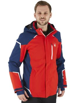 Spyder Copper Gore-Tex Ski/Snowboard Jacket, L Bright Red