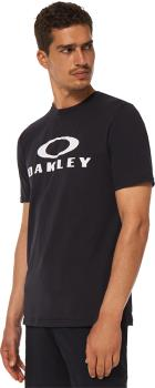 Oakley O Bark Men's Short Sleeve Crew Neck T-Shirt, XL Black