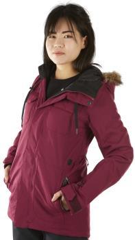 Volcom Shadow Insulated Women's Ski/Snowboard Jacket, Uk 8 Purple
