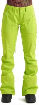 Burton Vida Women's Ski/Snowboard Pants, XXS Tender Shoots