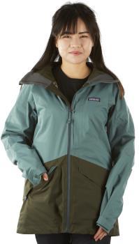 Patagonia Insulated Snowbelle Women's Snowboard/Ski Jacket, M Green