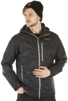 Patagonia DAS Light Hoody Insulated Water Resistant Jacket, L Black