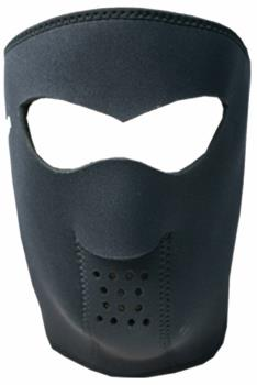 Demon Neoprene Head Guard DS5107 Ski/Snowboard Face Mask XL Black