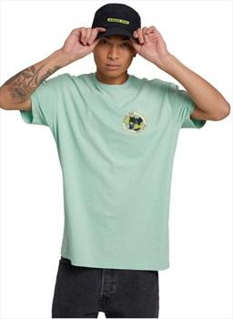 Analog Adult Unisex Halifax Short Sleeved T-Shirt, M Faded Jade