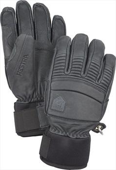 Hestra Leather Fall Line Ski/Snowboard Gloves, S Grey