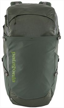 Patagonia Adult Unisex Nine Trails Rock Climbing Backpack, 28l S/M Industrial Green