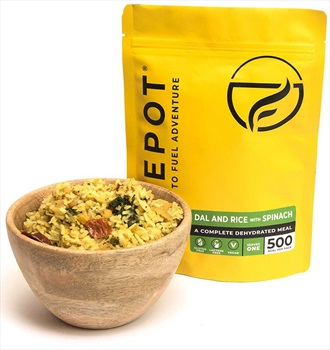 Firepot Dal & Rice With Spinach Camping & Backpacking Food