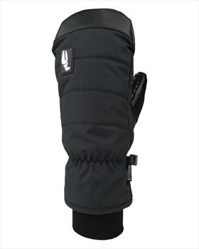 Crab Grab Snuggler Snowboard / Ski Mitts, M Black