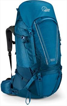 Lowe Alpine Diran 65:75 Trekking Backpack, 75L Blue
