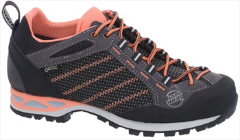 Hanwag Makra Low GTX Women's Approach Shoe, UK 4 Asphalt/Orink