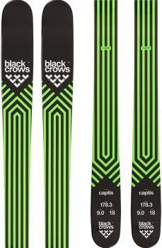Black Crows Captis Skis 178cm, Black/Green, Ski Only, 2022