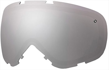 Smith Phenom Turbo Fan Snowboard/Ski Goggle Spare Lens, Platinum
