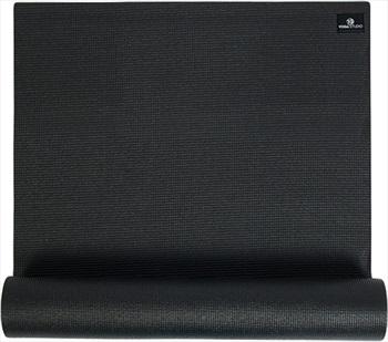 Yoga Studio Sticky Yoga/Pilates Non-Slip PVC Mat, 6mm Black