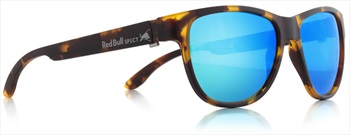Red Bull Spect Wing 3 Green Polarised Sunglasses, Matte Tortoise