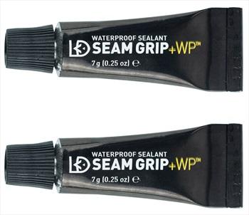 Gear Aid Seam Grip + WP Waterproof Sealant & Adhesive, 2x7g Black