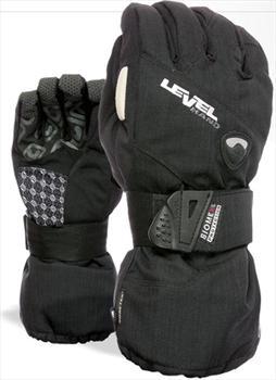 Level HalfPipe Gore-Tex XCR Womens Ski/Snowboard Glove X Small Black