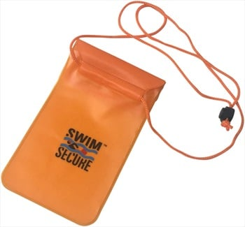 Swim Secure Orange Phone Bag Waterproof Electronics Case, O/S