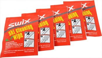 Swix 5 Pack Snowboard Ski Cleaning Wipes Remove Wax