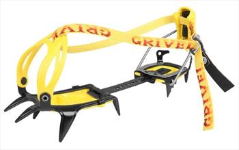 Grivel G10 New Matic Mountaineering Crampon UK 2-12 Yellow