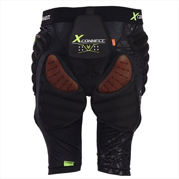 Demon Flex Force XD3O X2 Ski/Snowboard Impact Shorts, L Black