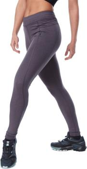 Dakine Larkspur Mid Weight Women's Thermal Leggings, L Black Heather